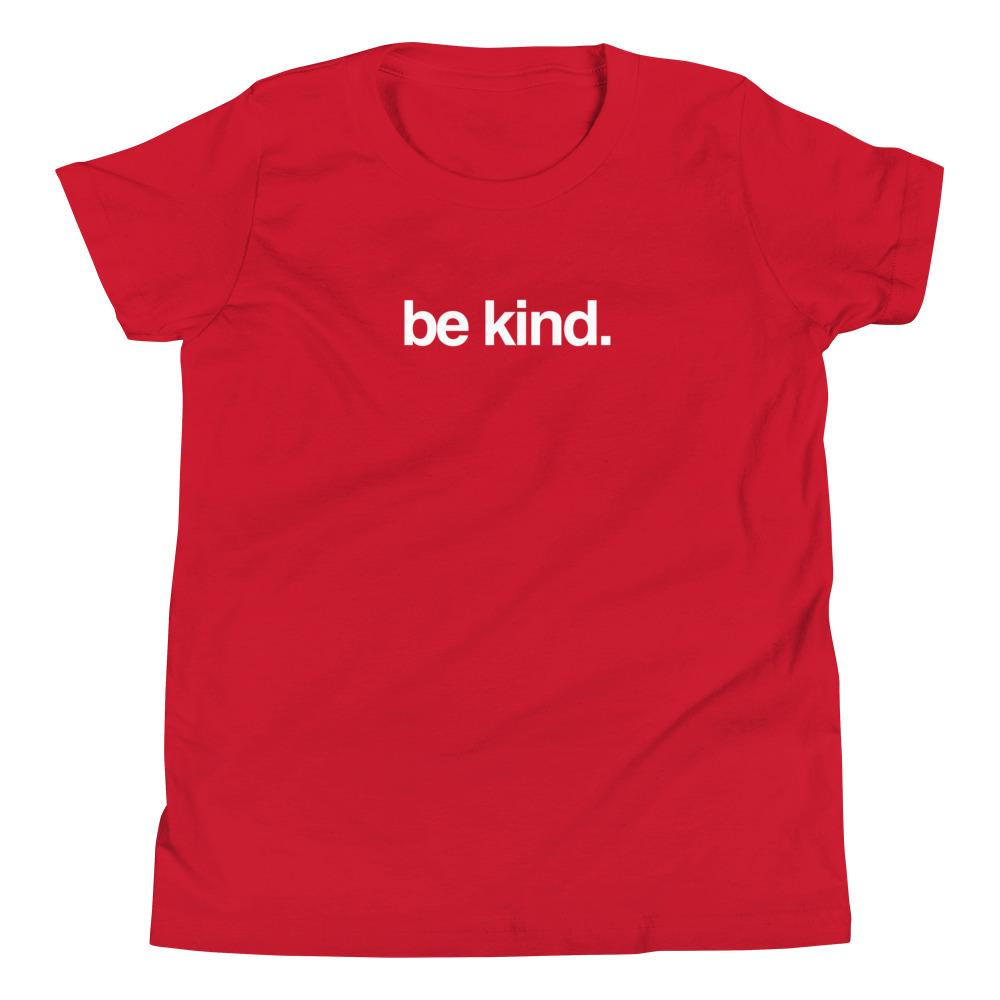 """Be Kind"" Youth Short Sleeve T-Shirt"