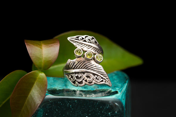 Pueo Feather Ring