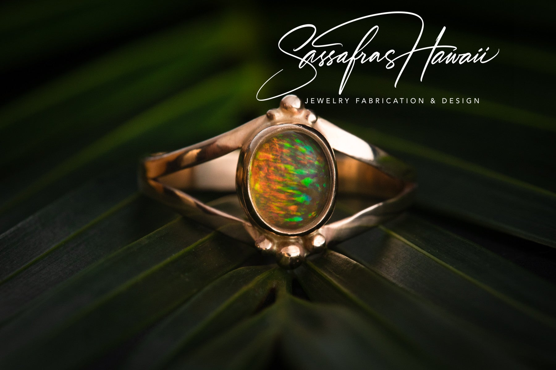 Mexican Fire Opal Ring SOLD