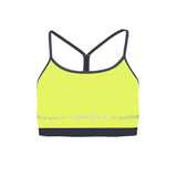 Drop Of Mindfulness Freja Bra Yellow Sujetador Amarillo Front