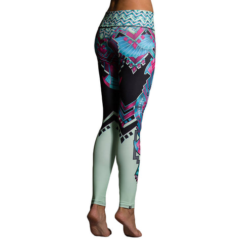 Onzie Graphic Leggings Cleo Mallas de Yoga de Onzie Cleo Estampado
