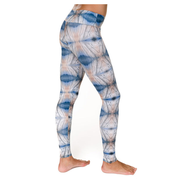 Onzie Quicksand Long Tights Mallas de Yoga Multicolor Detalle
