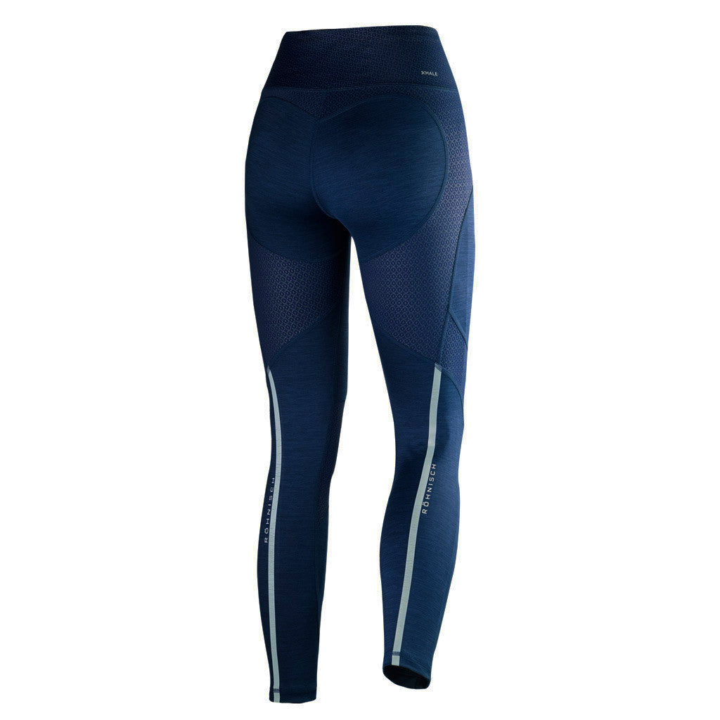 Röhnisch Shape 7/8 Tights Lynne Ocean Blue Mallas de Compresión Azul Mallas de Running