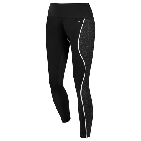 Röhnisch Rex Shape Tights Black Mallas de compresión running mujer negro push-up