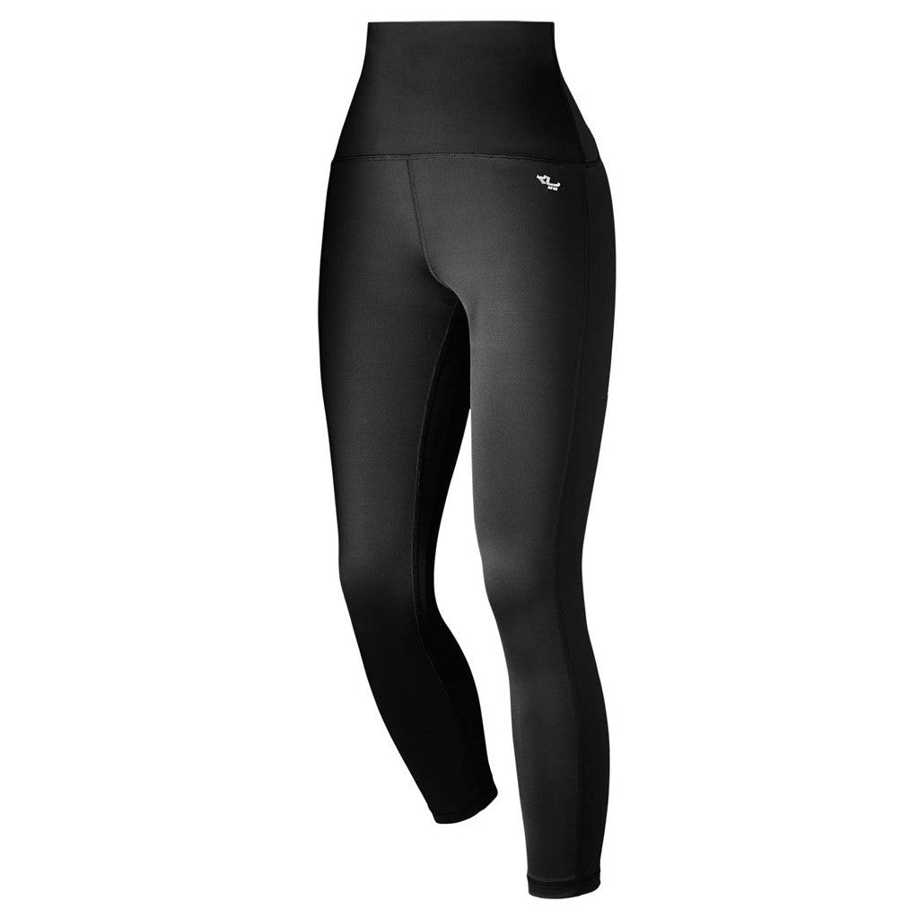 Röhnisch Shape Nora 7/8 Tights Black High Waist Compression Mesh Mallas de Compresión Cintura Alta Negro