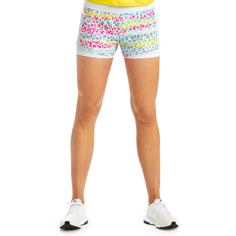 Röhnisch Tora Run Shorts Clover Multi Shorts Running Dobles Estampado