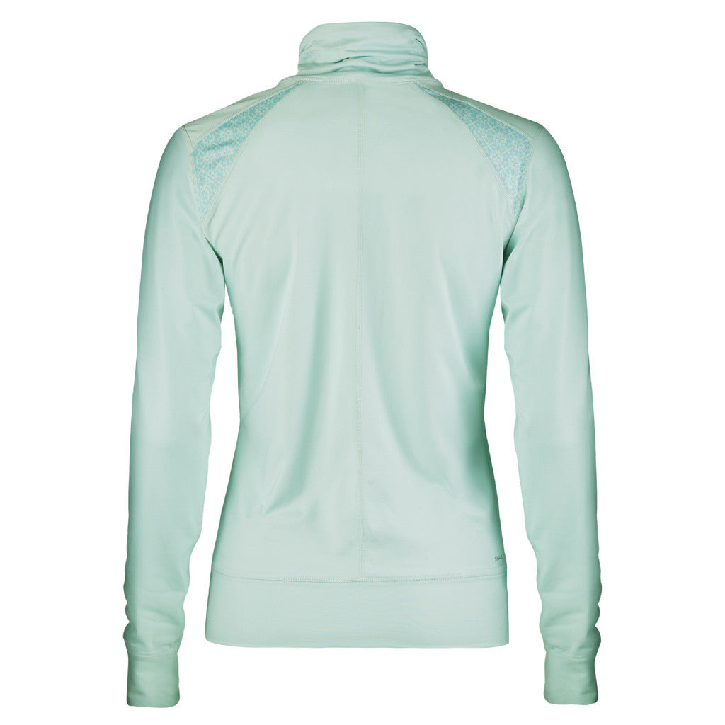 Röhnisch Zip Jacket Ice Mint Running Outside Chaqueta Correr Menta