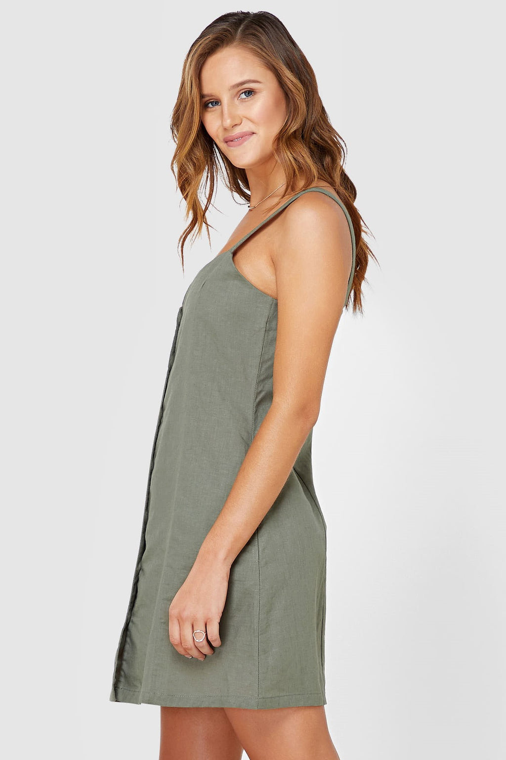 Frieda Dress // Khaki