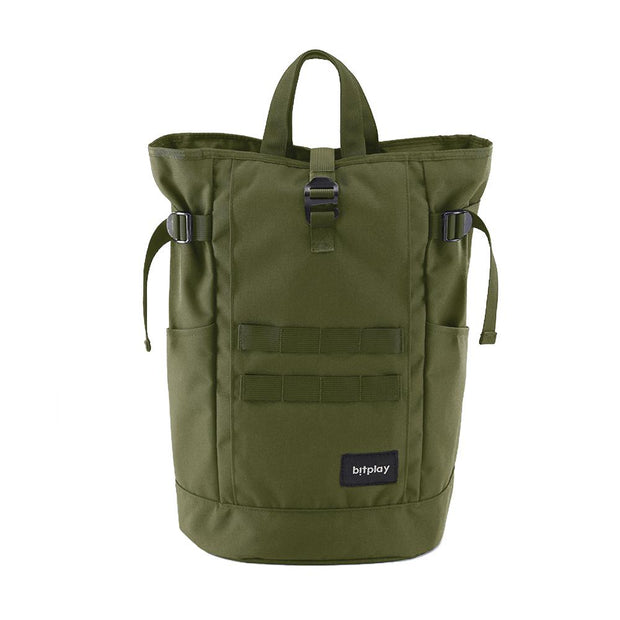 bitplay Daypack Series in Army Green: Daypack & Pouch