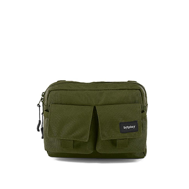 bitplay Daypack Series in Army Green: Shoulder Bag