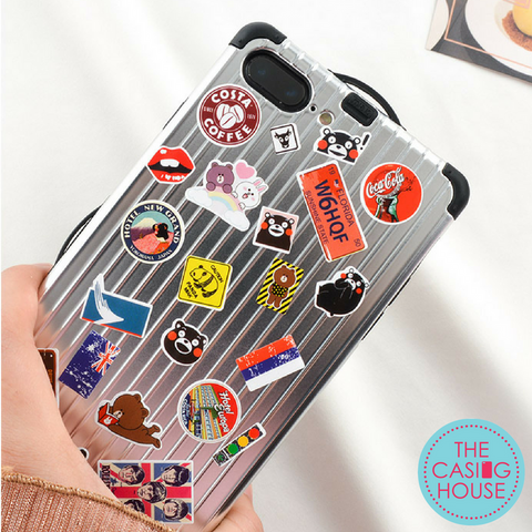 info for 08b10 2373a DIY Stickers on Luggage Series