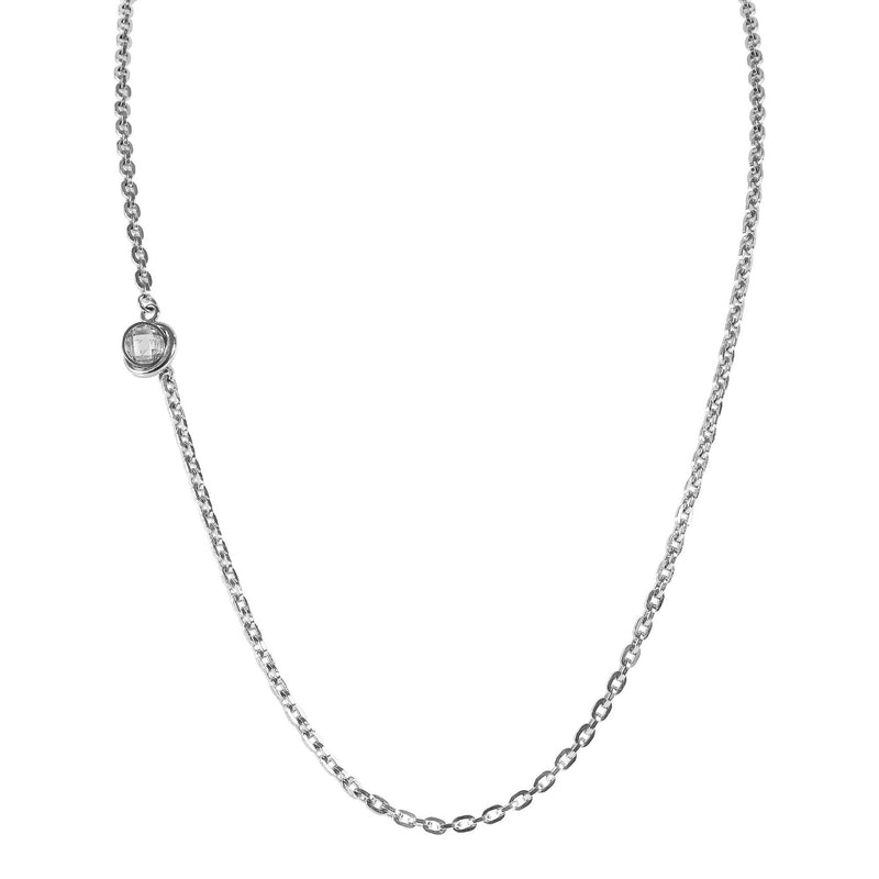 TIARA - 3 Styles Necklace - Silber
