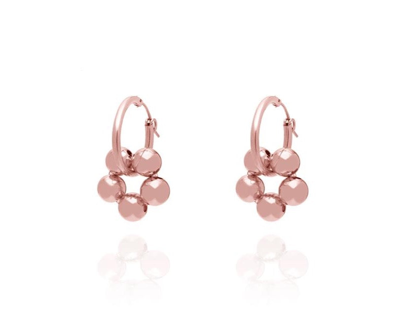 ABSOLUT AZALEA Medium Earring - Roségold - CLASSIC Modell 2020