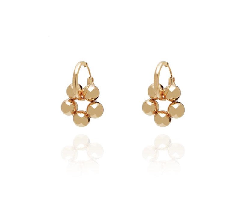 ABSOLUT AZALEA Mini Earring - Gold
