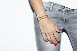 Loop it Twice  - Kugelarmband -   Roségold - CLASSYANDFABULOUS JEWELRY
