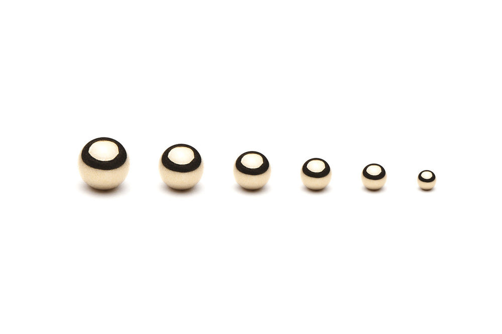 Kugelohrring • Gold • 8mm - CLASSYANDFABULOUS JEWELRY