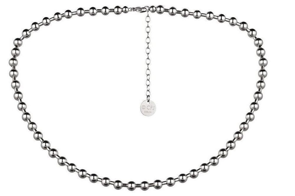 NYC NECKLACE  - Moderne Kugelkette - 5mm -  Silber