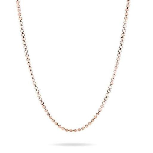 NEVE Necklace  - Pailletten Kette -  Roségold - CLASSYANDFABULOUS JEWELRY