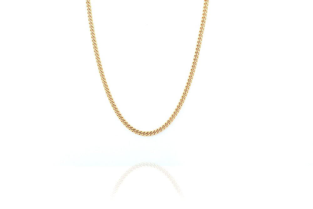 Curb Chain -  Gold - CLASSYANDFABULOUS JEWELRY