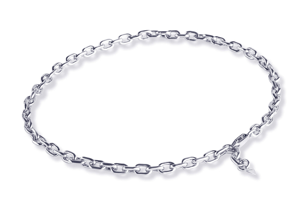 EVELIN LARGE ROUND Anklet - Fusskettchen - Silber