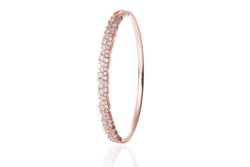 ANAH Luminated Closed Bangle  - Roségold - LIMITIERT