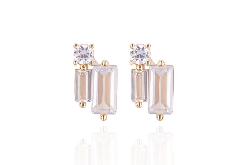 LORA NEW PIN STUD Earrings - Gold