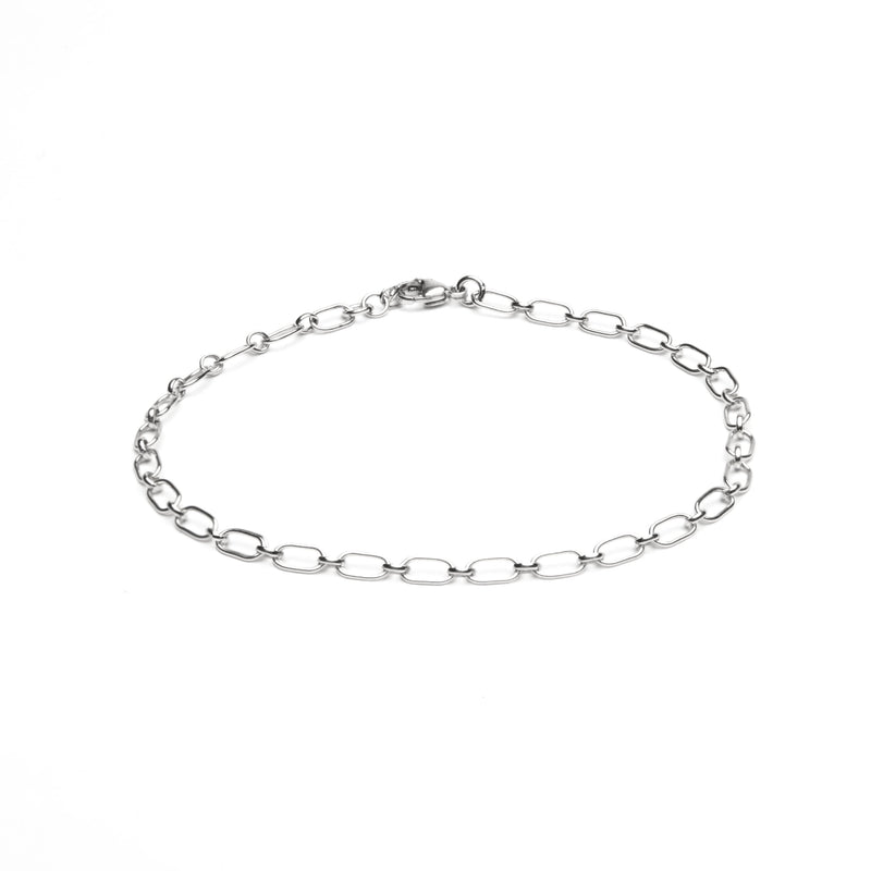 ELVA Anklet - Edles Fusskettchen - personalisierbar -  Silber - CLASSYANDFABULOUS JEWELRY
