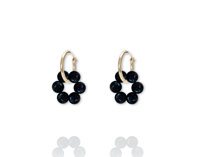 ABSOLUT AZALEA Earring - Gold / Black