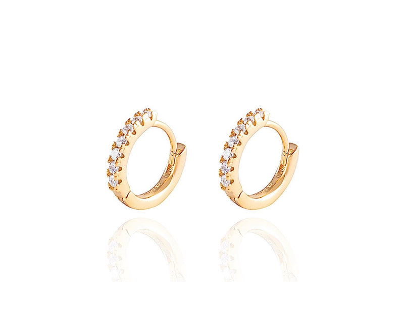 ALEA Baby Hoops - Mini Creolen - 8mm- Gold