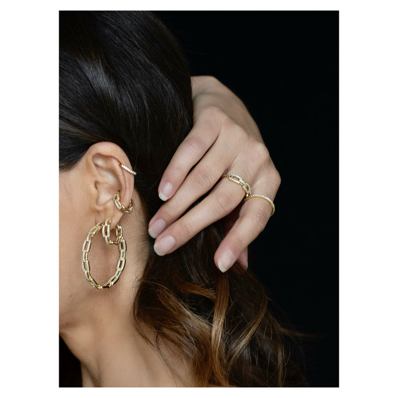 DAYA 2in1 EARCUFF - GOLD