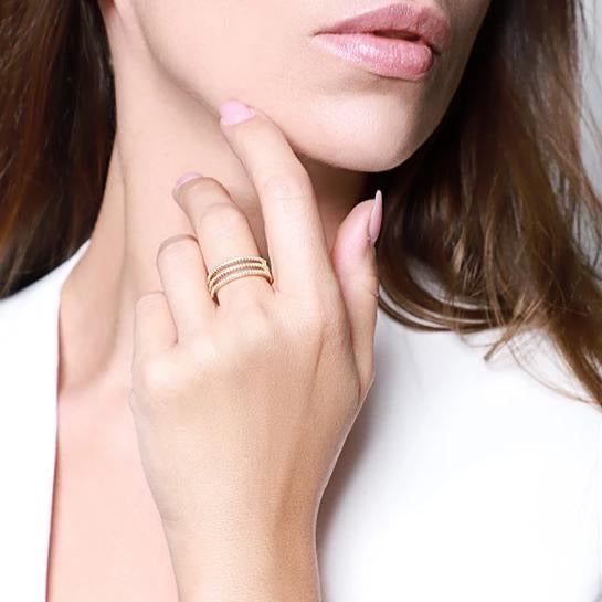 RINA Ring - Gold - LIMITIERT - CLASSYANDFABULOUS JEWELRY