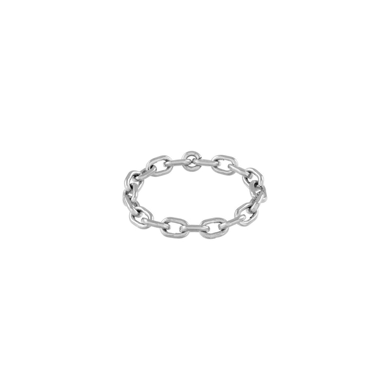 Micro Link Chain Ring  - Kettenring - Silber - CLASSYANDFABULOUS JEWELRY