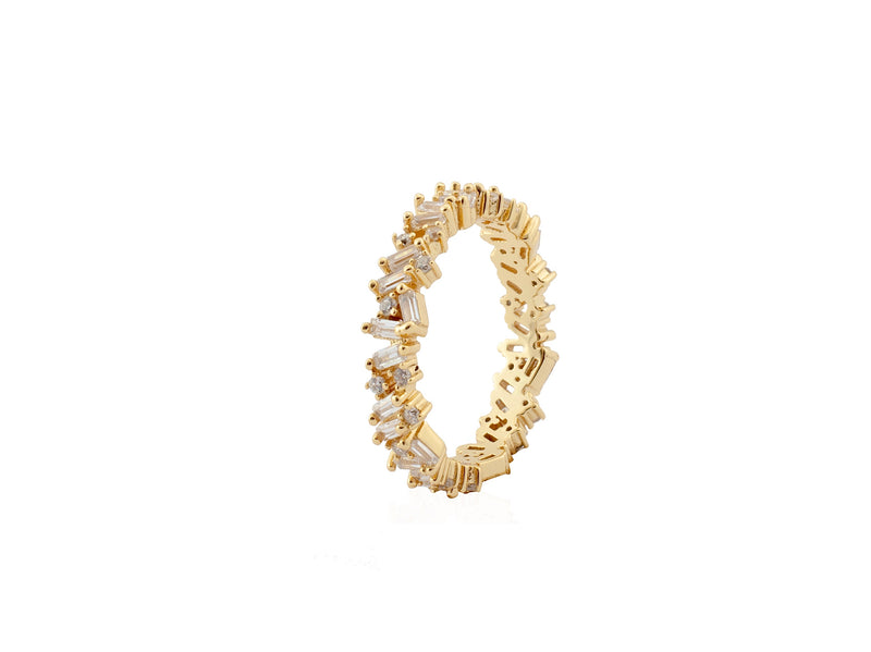 LORA ETERNITY RING - Gold - LIMITIERT - CLASSYANDFABULOUS JEWELRY