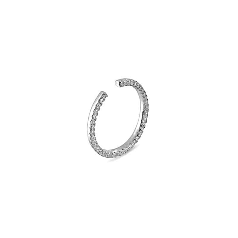 ALEA MONO Earring 2in1 - Silber