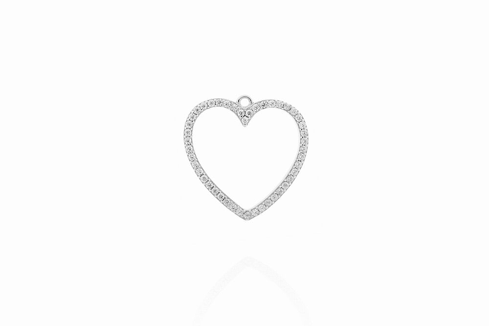 THE OPEN HEART - CLASSYANDFABULOUS JEWELRY