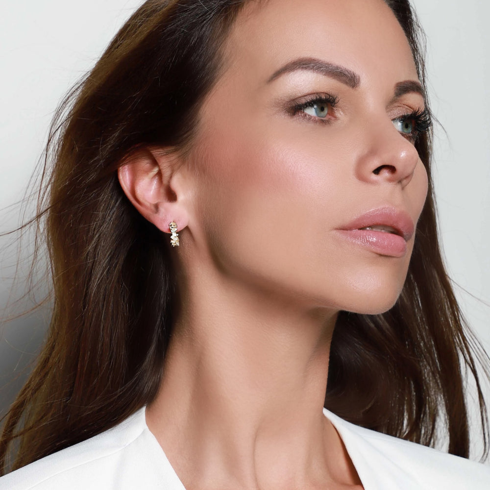 LORA SMALL HOOPS - Roségold - LIMITIERT - CLASSYANDFABULOUS JEWELRY