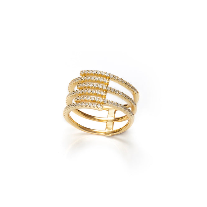 DEYA Ring - Gold - LIMITIERT - CLASSYANDFABULOUS JEWELRY