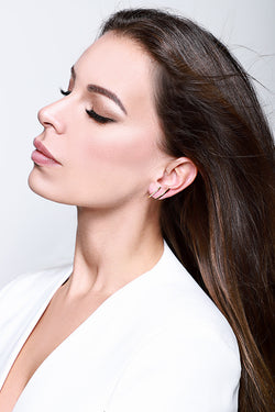 ALEA ALL DAY EARRING - Silber rhodiniert - LIMITIERT - CLASSYANDFABULOUS JEWELRY