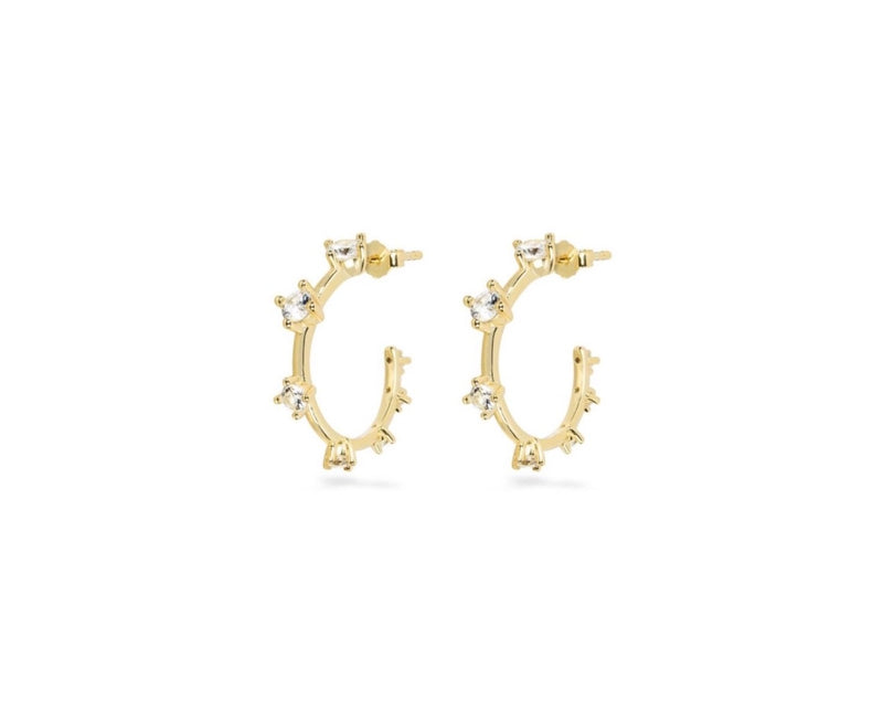 GIZA Small Hoops  - Gold