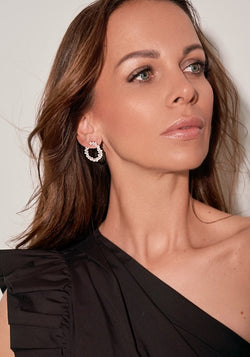 ANAH - FINE LUMINATE HIDDEN EARRING - Gold - LIMITIERT