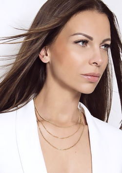 LAYA - The ReadyToWear Triple Necklace - Silber - CLASSYANDFABULOUS JEWELRY