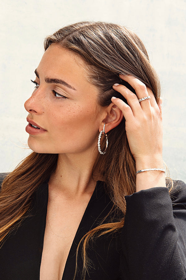 LORA BIG HOOPS - Gold - LIMITIERT - CLASSYANDFABULOUS JEWELRY
