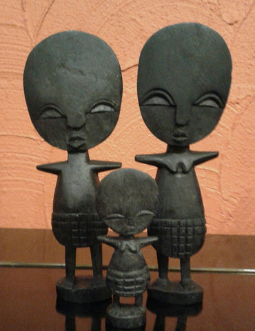 Akuaba Family Dolls (lucky charm)