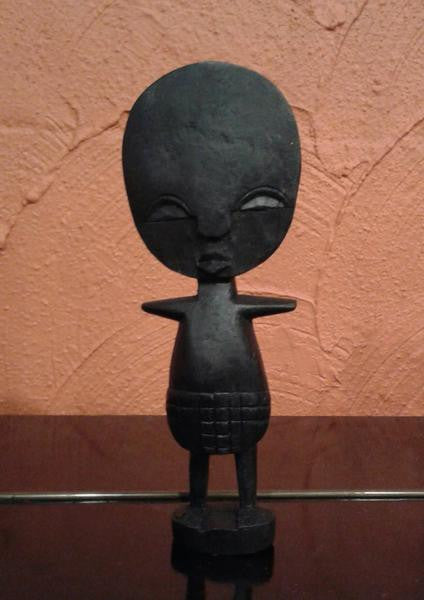 Akuaba wooden doll (luck charm)