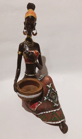 Masai Girl Figurine