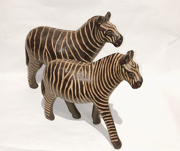 Couple zebra
