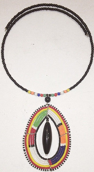 Kenya Beaded Necklace