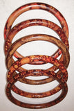 Edo Bracelets Wood (set of 5)