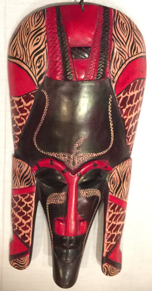 Masai Warrior Mask