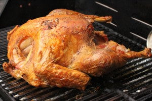 how to grill a turkey